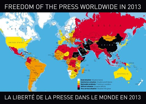 Press Freedom 2013
